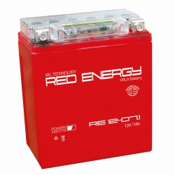 Red Energy RE 12-07.1 7Ач 110А (114x71x131) YTX7L-BS