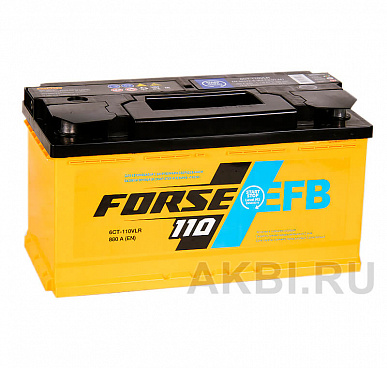 Forse EFB 110R 880A (353x175x190) Start-Stop