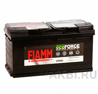 Fiamm Ecoforce AGM 90R 900A 353x175x190 (L5) Start-Stop