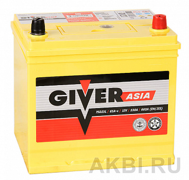 Giver 75D23L (65R 530A 231x170x223)