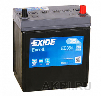Exide Excell 35R (240A 187x127x227) EB356