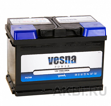 Vesna Power 74L (680A 278x175x190) 415374 57013