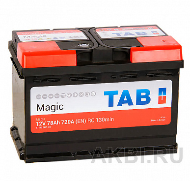 Tab Magic 78R (720A 278x175x190) 189080 57549