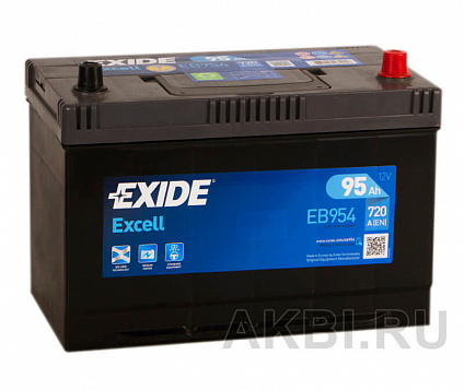 Exide Excell 95R (720A 306x173x225) EB954