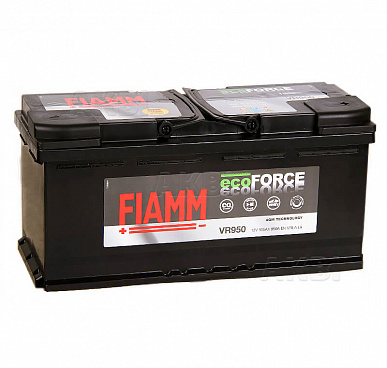 Fiamm Ecoforce AGM 105R 950A 393x175x190 (L6) VR950 Start-Stop