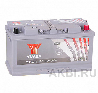 YUASA YBX5000 100R (900А 353x175x190) Silver High Performanse YBX5019