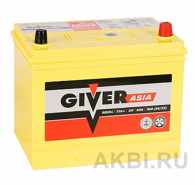 Giver 80D26L (75R 610A 260x173x225)