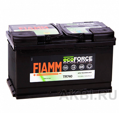 Fiamm Ecoforce AFB 80R 740A (315x175x190) EFB Start-Stop