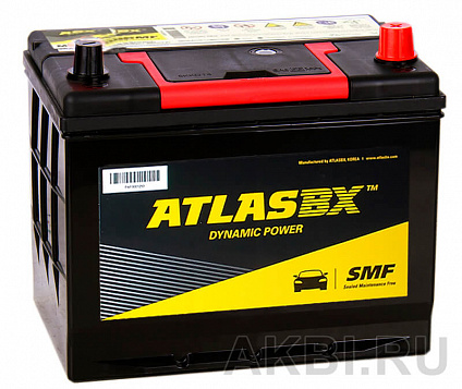 Atlas Dynamic Power MF90D26L (72R 630A 262x175x226)