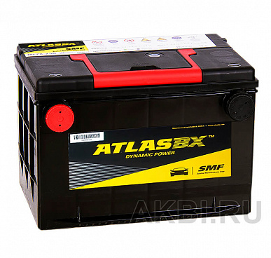 Atlas Dynamic Power MF78-670 (70L 670A 261x175x200) боковые клеммы