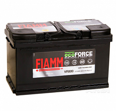 Fiamm Ecoforce AGM 80R 800A 315x175x190 (L4) Start-Stop